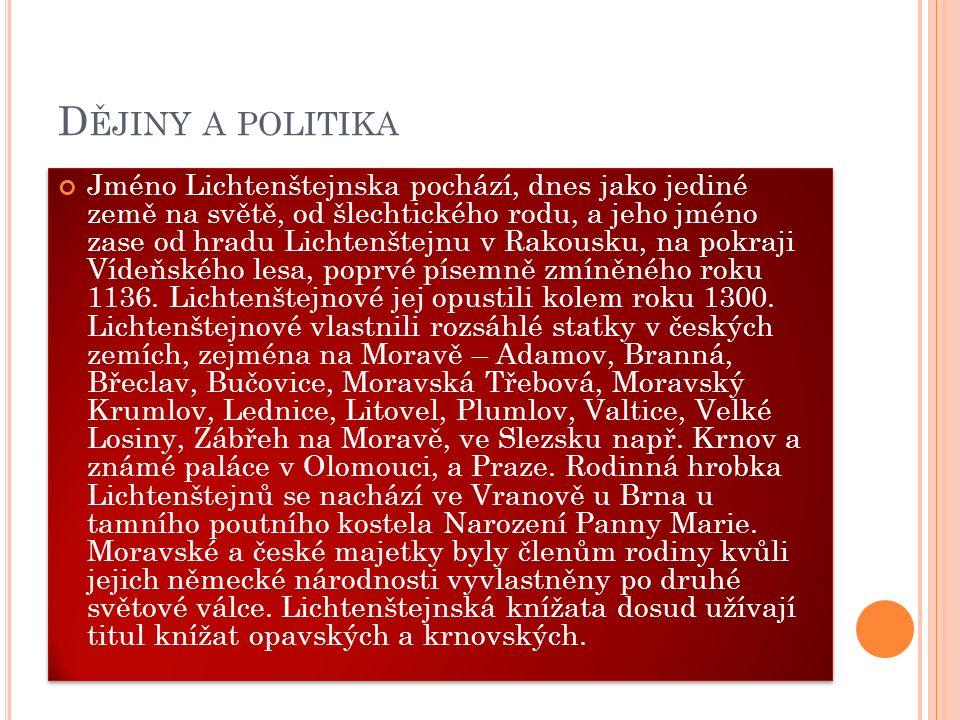 Dějiny a politika
