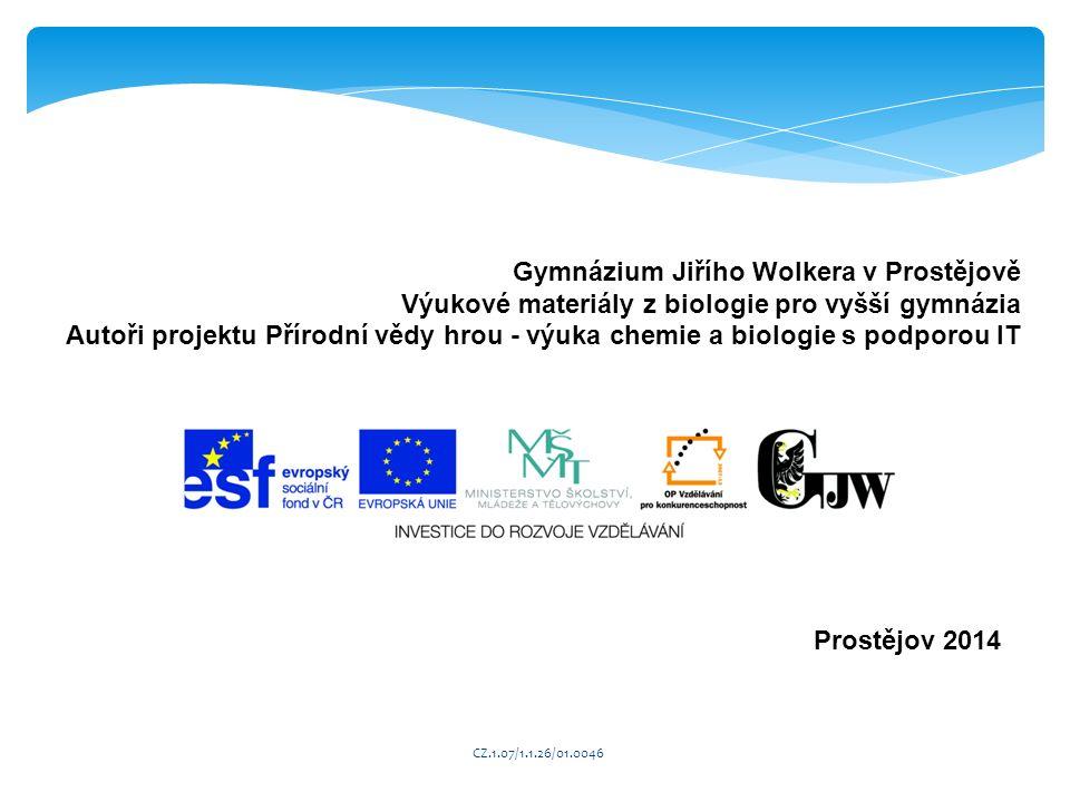 Gymnázium Jiřího Wolkera v Prostějově
