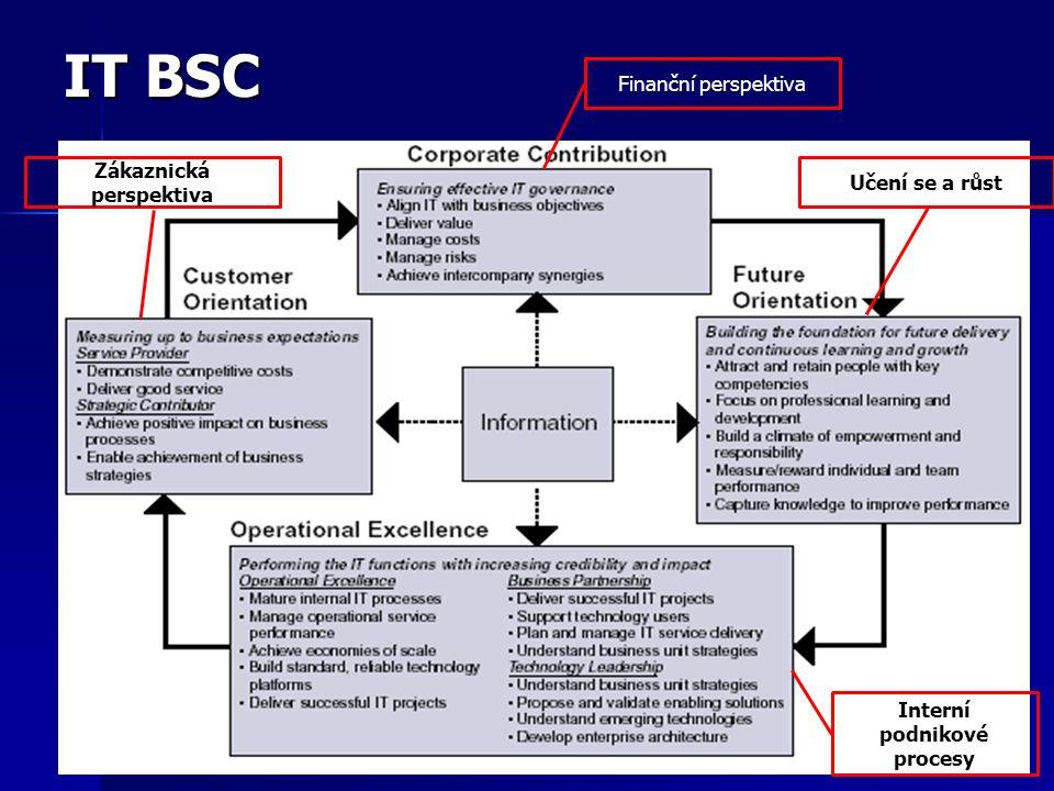 Zákaznická perspektiva Interní podnikové procesy