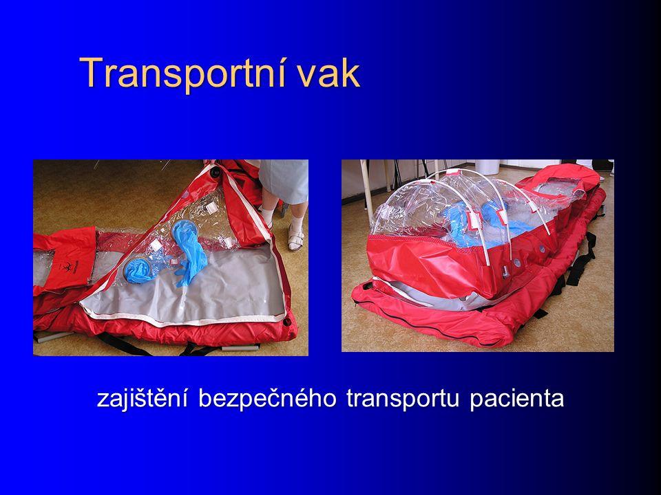 zajištění bezpečného transportu pacienta