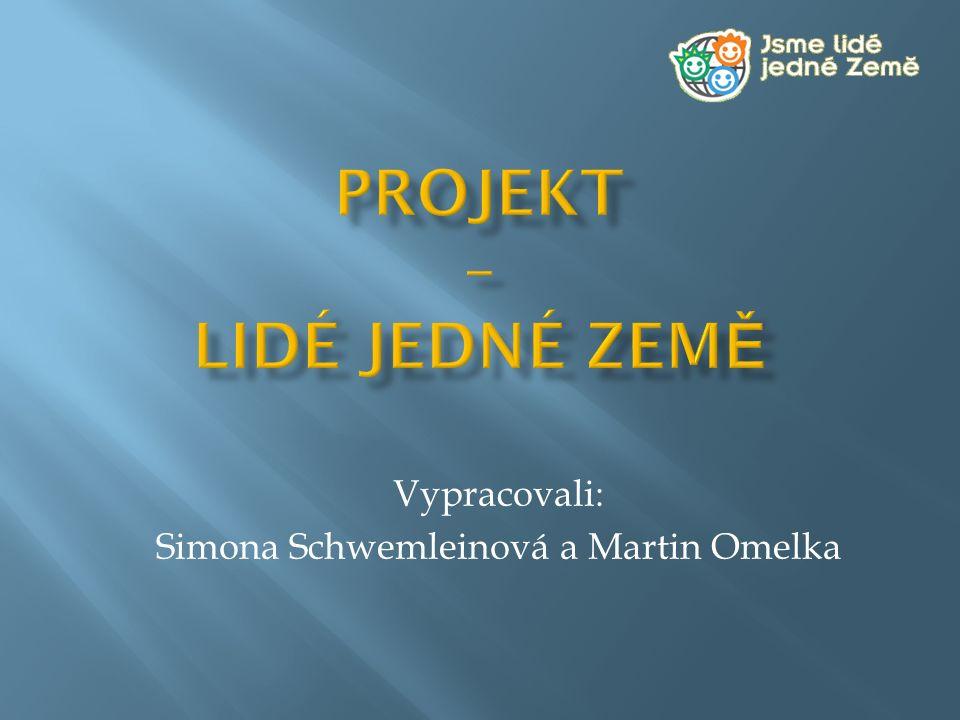 Projekt – Lidé jedné země