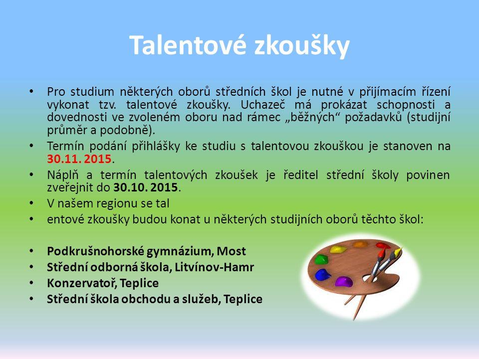 Talentové zkoušky