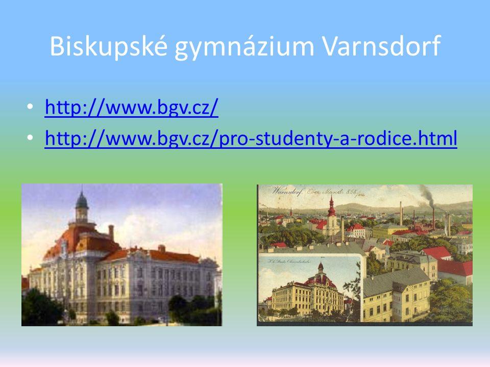 Biskupské gymnázium Varnsdorf