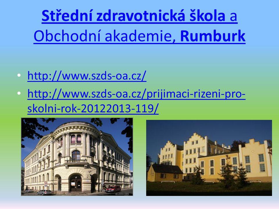 Střední zdravotnická škola a Obchodní akademie, Rumburk