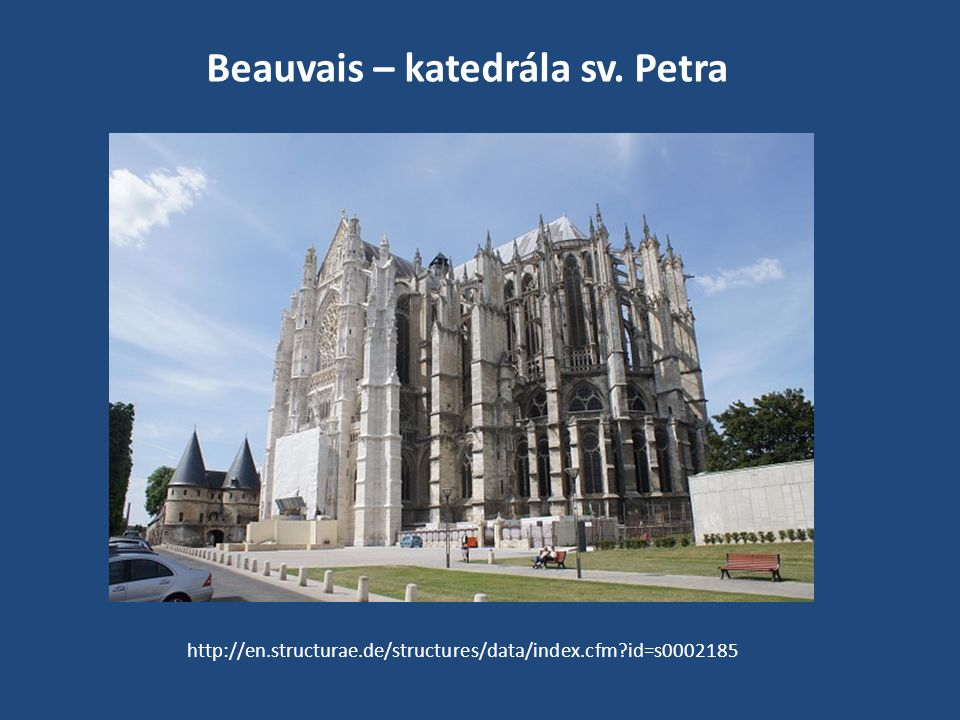 Beauvais – katedrála sv. Petra