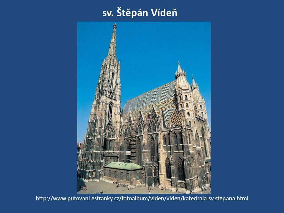 sv. Štěpán Vídeň http://www.putovani.estranky.cz/fotoalbum/viden/viden/katedrala-sv.stepana.html