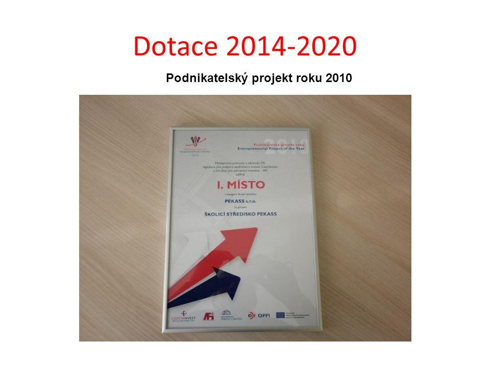 Podnikatelský projekt roku 2010