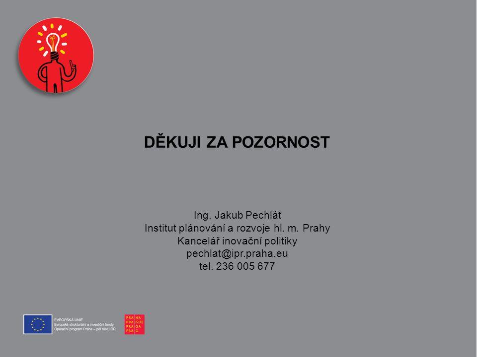 DĚKUJI ZA POZORNOST Ing. Jakub Pechlát
