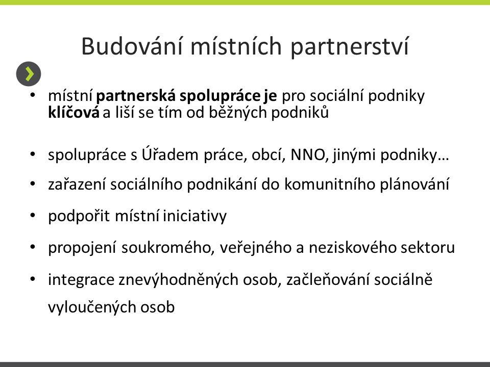 Budování místních partnerství