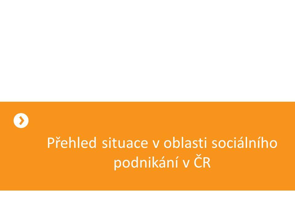 Přehled situace v oblasti sociálního podnikání v ČR