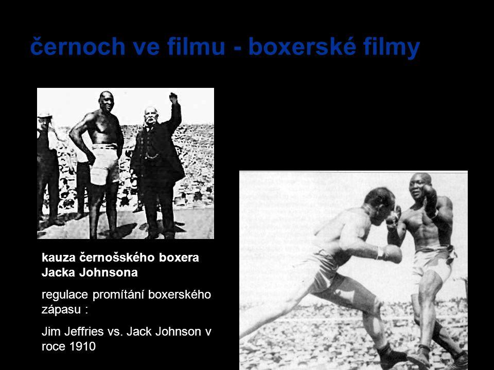 černoch ve filmu - boxerské filmy