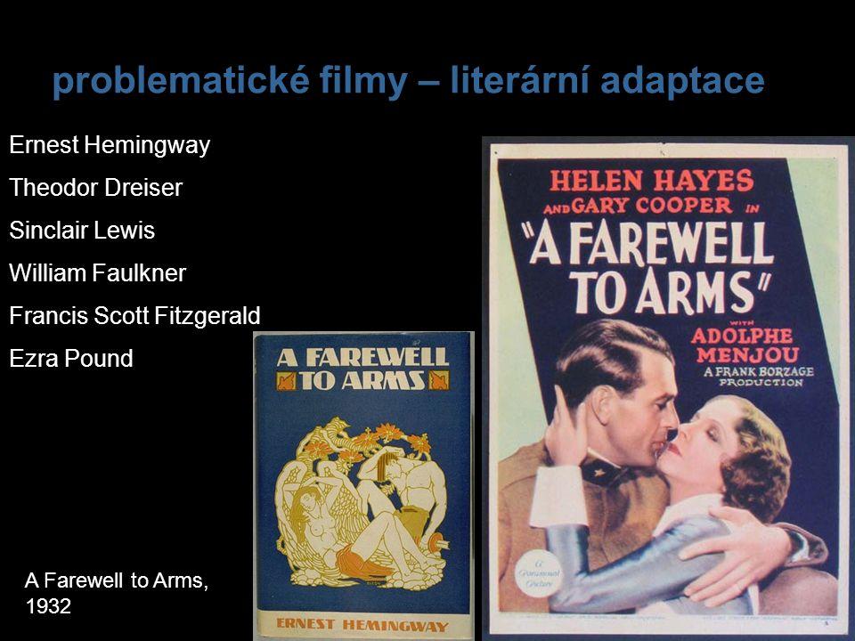 problematické filmy – literární adaptace