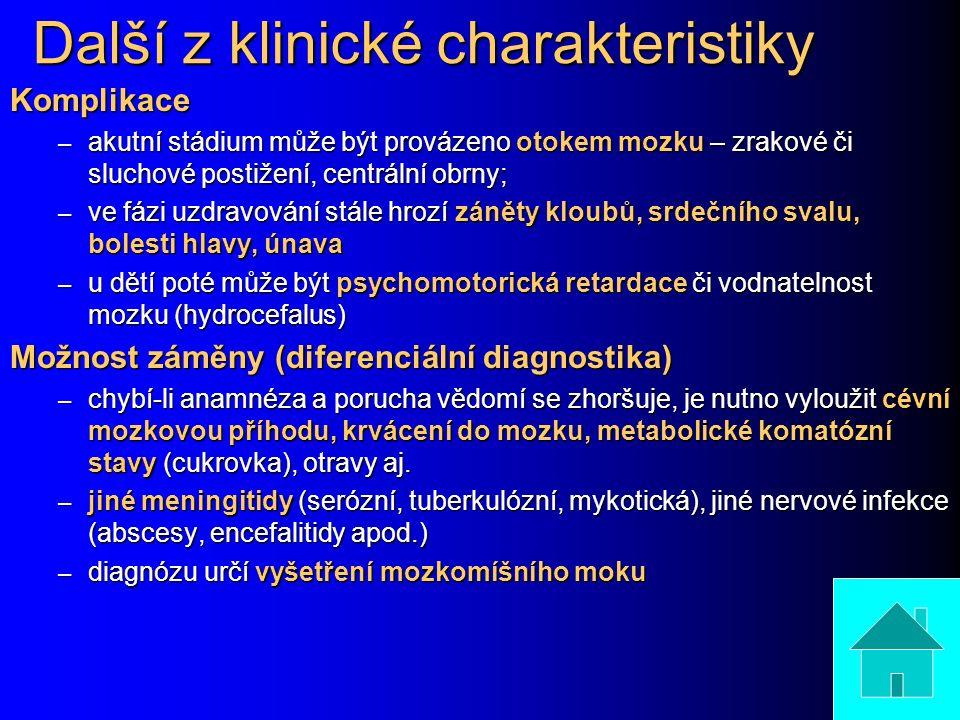 Další z klinické charakteristiky