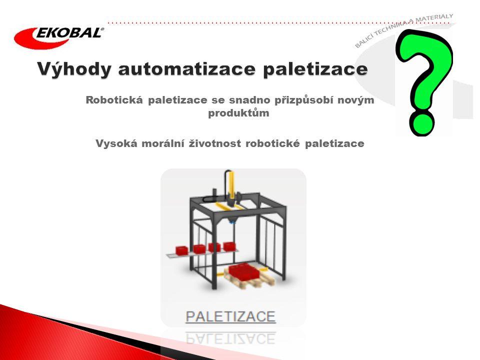 Výhody automatizace paletizace