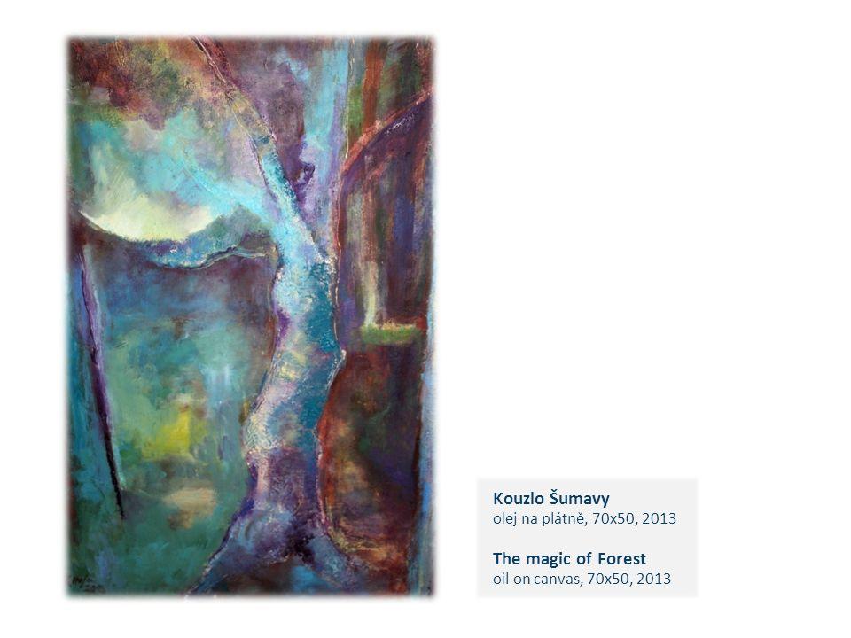 Kouzlo Šumavy olej na plátně, 70x50, 2013