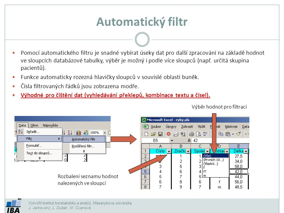 Automatický filtr