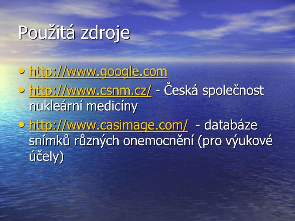 Použitá zdroje http://www.google.com