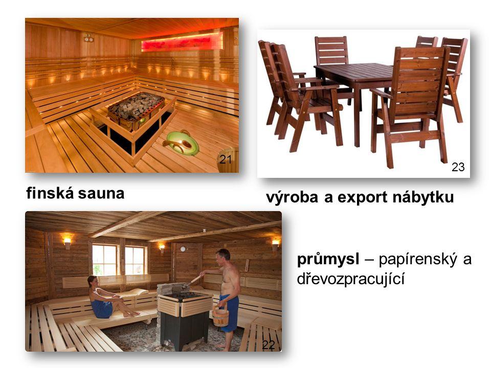 výroba a export nábytku