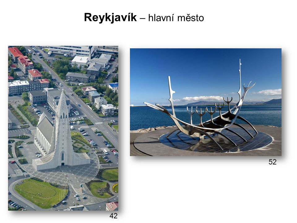 Reykjavík – hlavní město