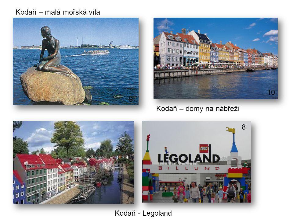 Kodaň – malá mořská víla