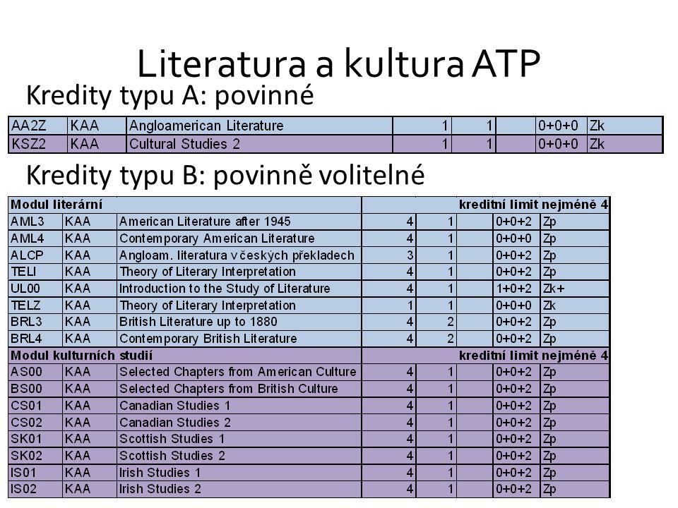 Literatura a kultura ATP