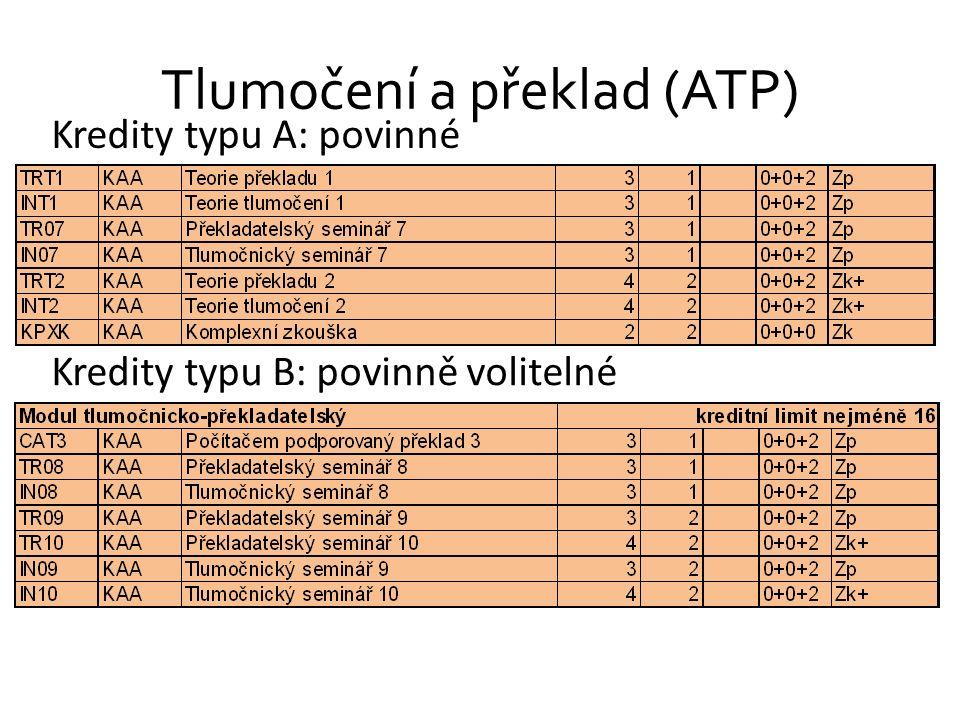 Tlumočení a překlad (ATP)