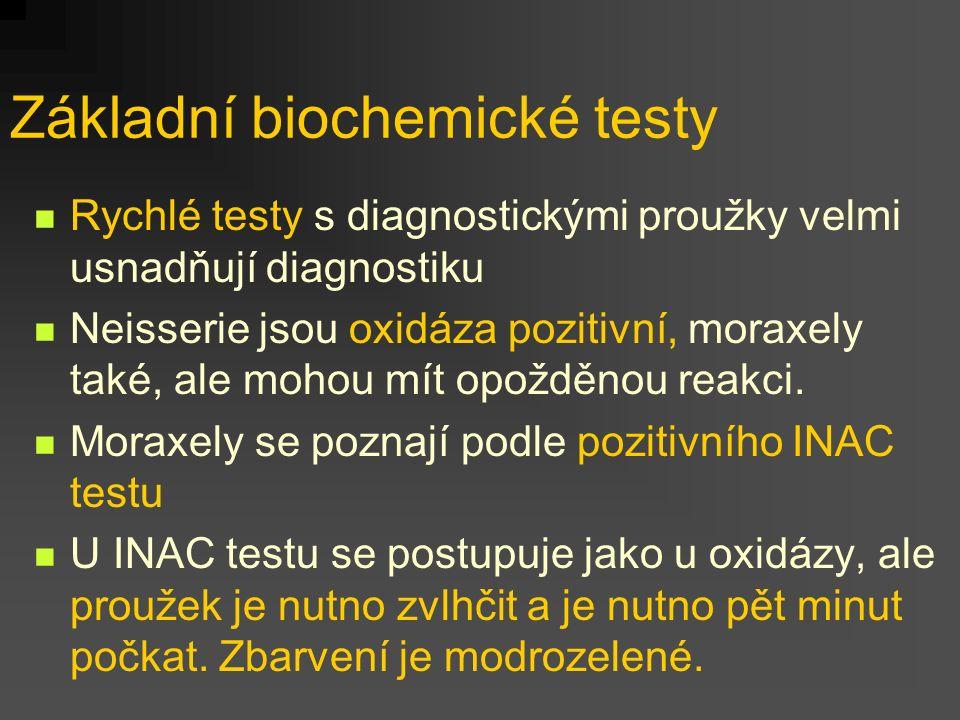Základní biochemické testy