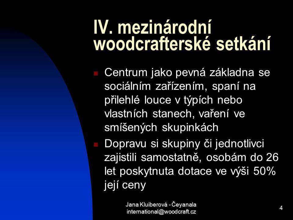 IV. mezinárodní woodcrafterské setkání