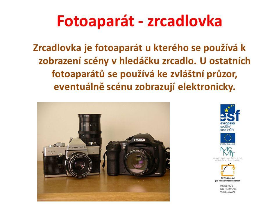 Fotoaparát - zrcadlovka