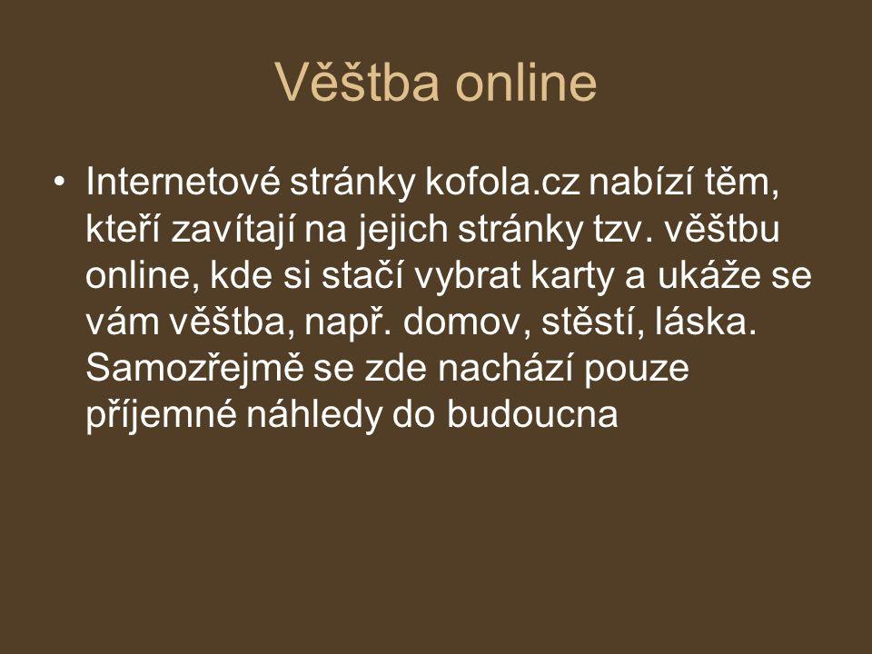Věštba online