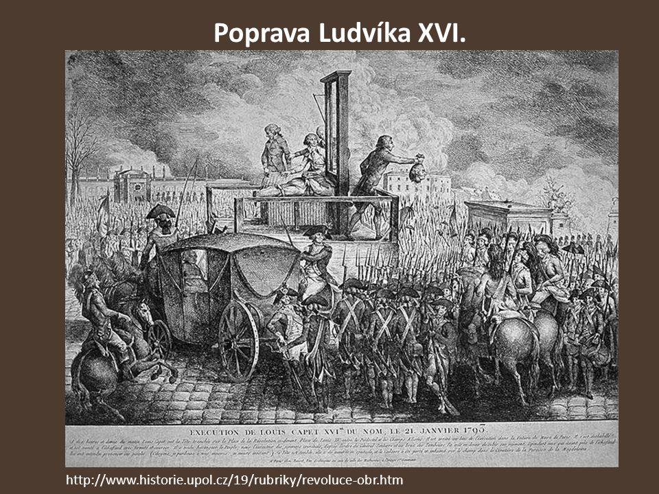 Poprava Ludvíka XVI. http://www.historie.upol.cz/19/rubriky/revoluce-obr.htm