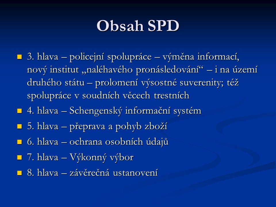 Obsah SPD