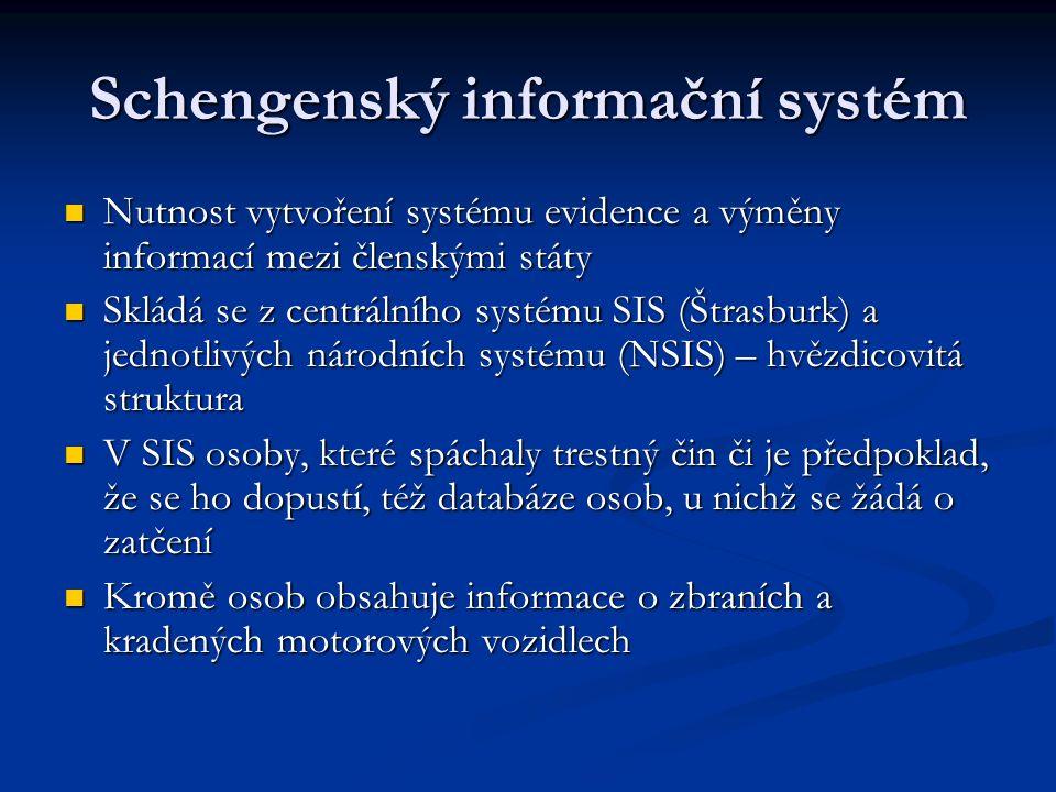 Schengenský informační systém