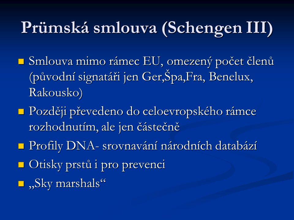 Prümská smlouva (Schengen III)