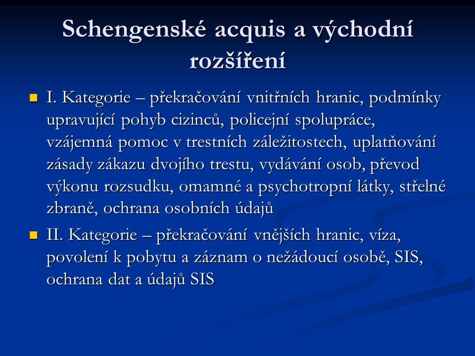 Schengenské acquis a východní rozšíření