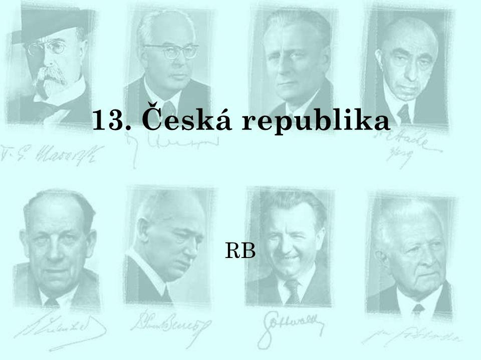 13. Česká republika RB