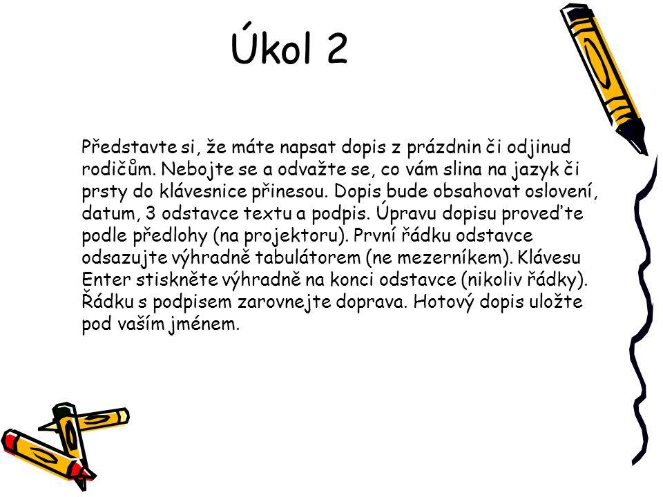 Úkol 2