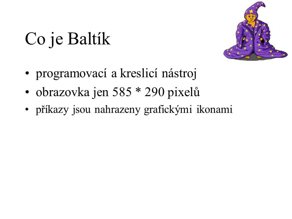 Co je Baltík programovací a kreslicí nástroj