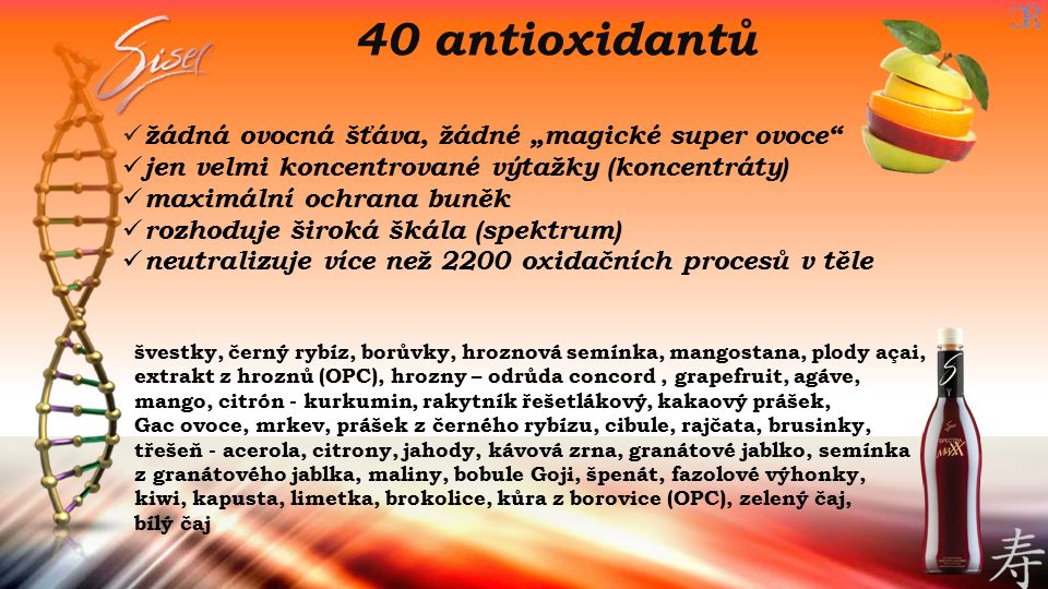 """40 antioxidantů žádná ovocná šťáva, žádné """"magické super ovoce"""
