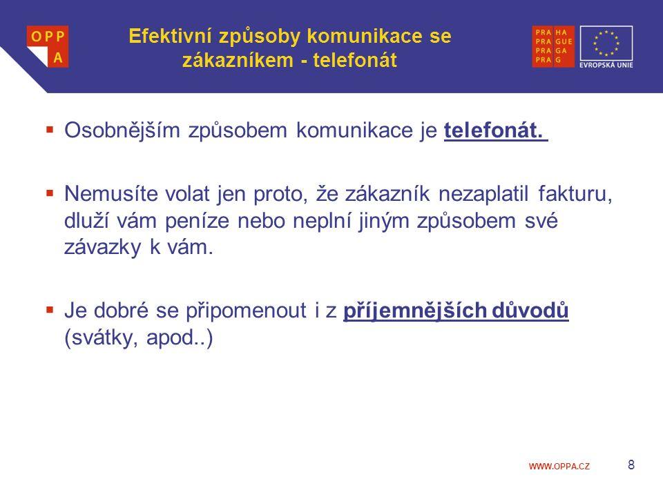Efektivní způsoby komunikace se zákazníkem - telefonát