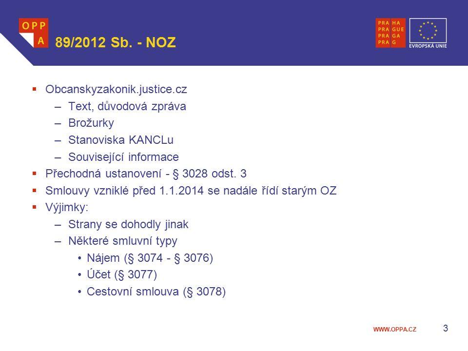 89/2012 Sb. - NOZ Obcanskyzakonik.justice.cz Text, důvodová zpráva