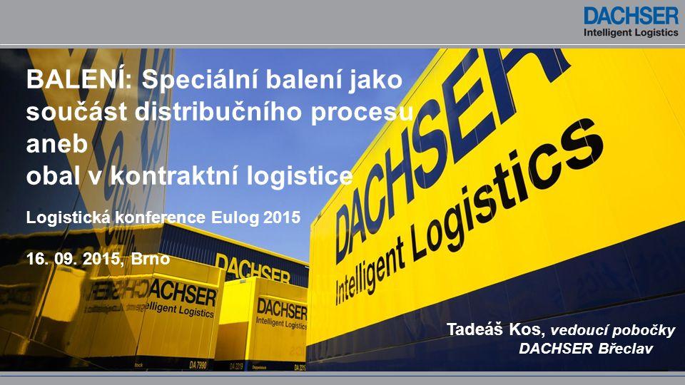 BALENÍ: Speciální balení jako součást distribučního procesu aneb