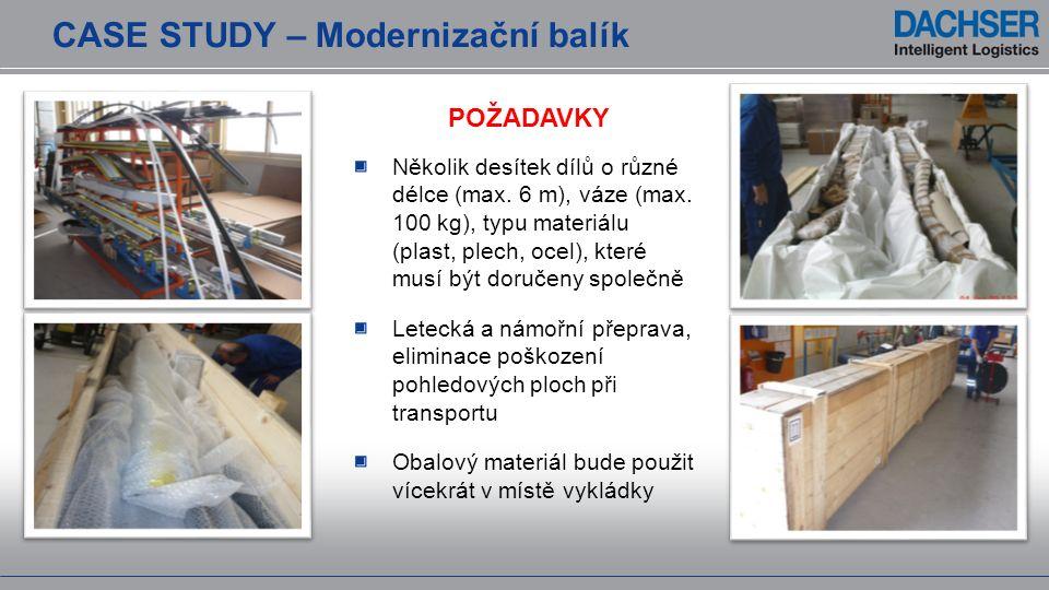 CASE STUDY – Modernizační balík