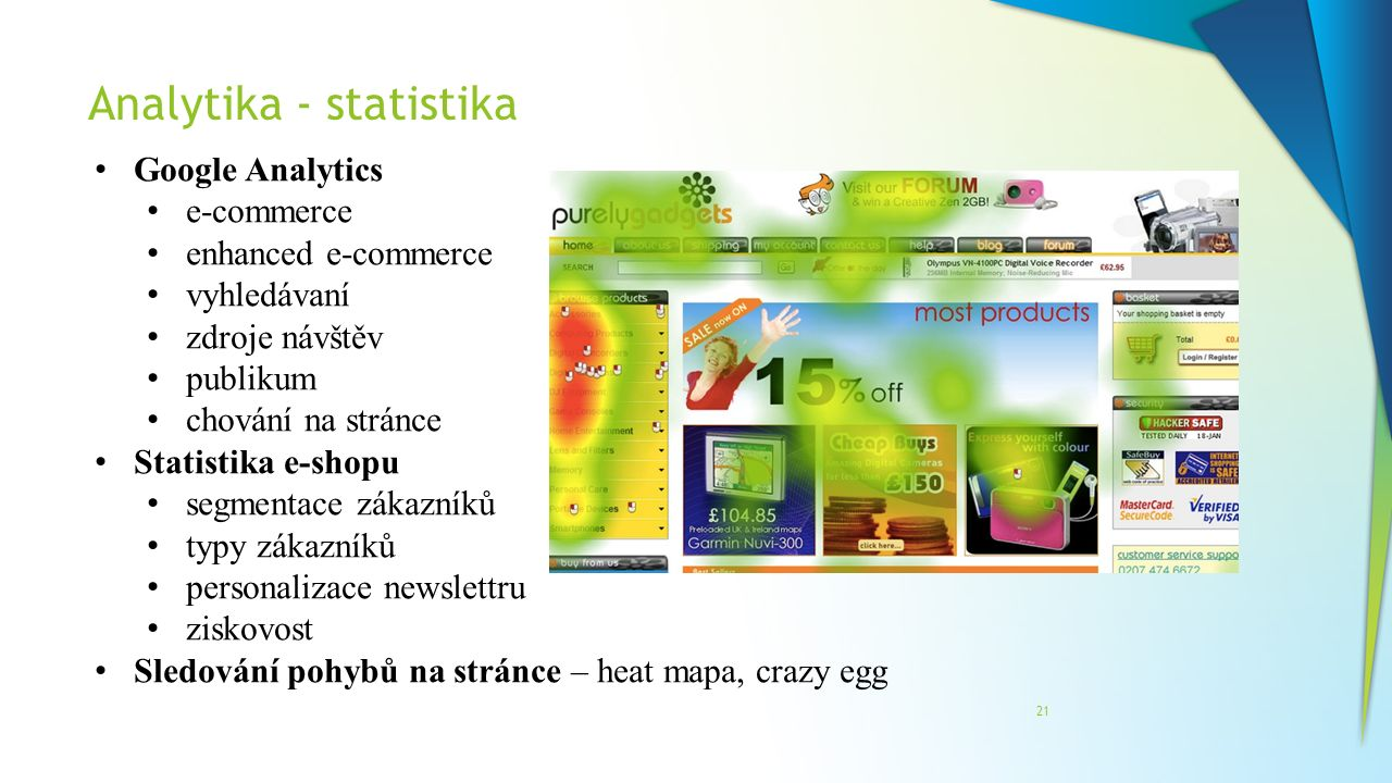 Analytika - statistika