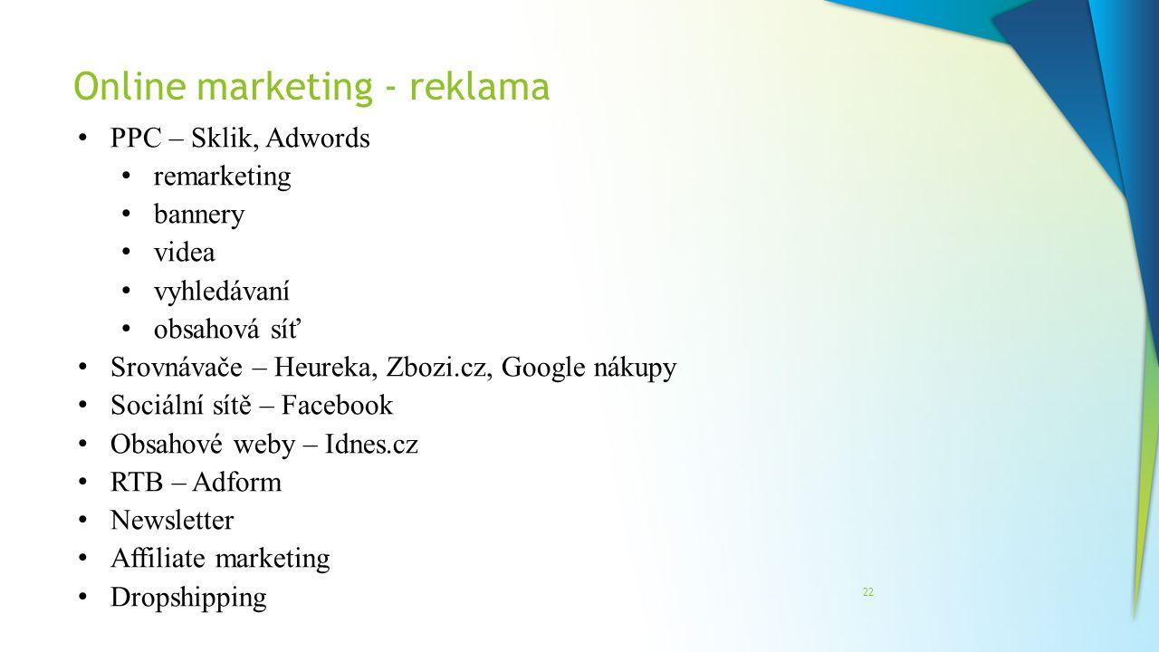 Online marketing - reklama