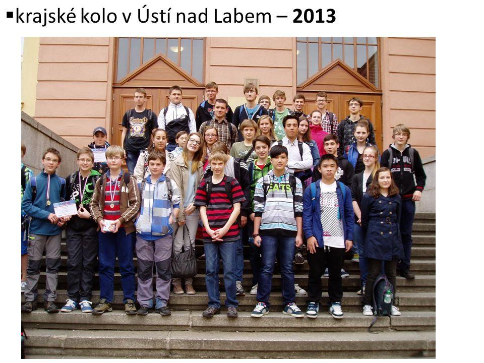 krajské kolo v Ústí nad Labem – 2013