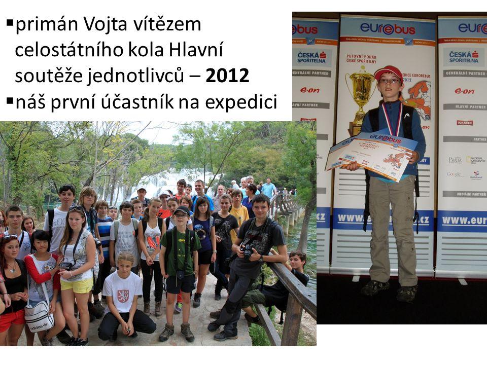 primán Vojta vítězem celostátního kola Hlavní soutěže jednotlivců – 2012
