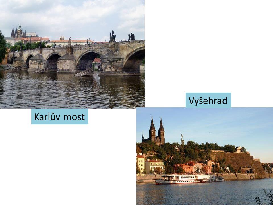 Vyšehrad Karlův most