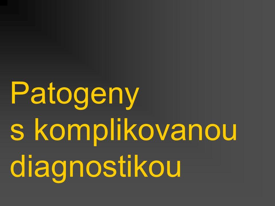 Patogeny s komplikovanou diagnostikou