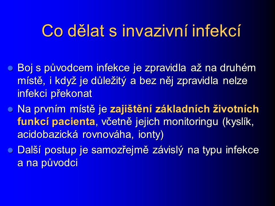 Co dělat s invazivní infekcí